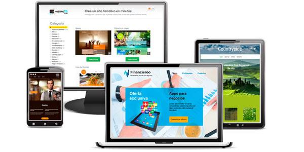 WebFácil, el sistema de HostingTG con el que podrás hacer tu propia web
