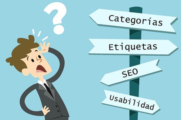 Cuál es la diferencia entre las categorías y etiquetas en un blog WordPress
