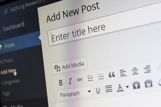 utilizando wordpress