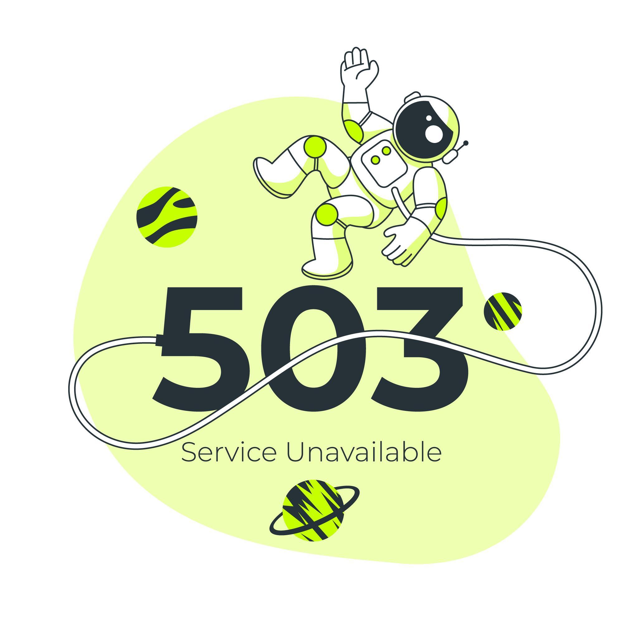 Error 503